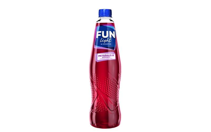 FUN Light skogsbär smakande dryckeskoncentrat 1,0l