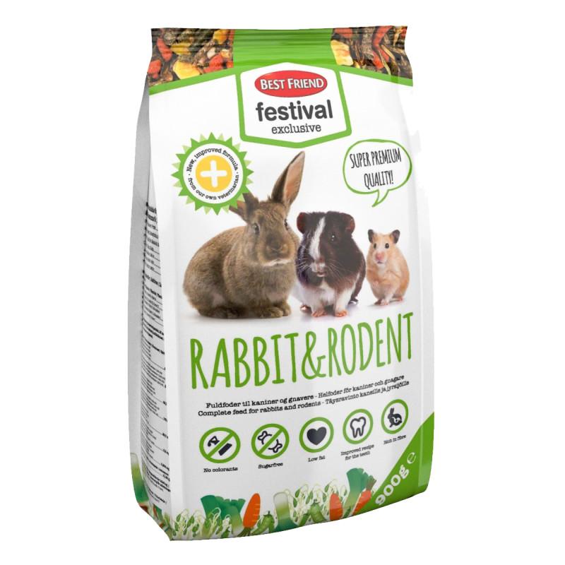 Helfoder till kaniner och gnagare